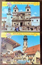 Lot Of 2 Vintage Tuco Picture Puzzle's Interlocking Pieces Austria & Ecuador