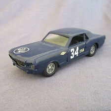 58E Solido 147 Ford Mustang # 34 Trans Am Repeint 1:43