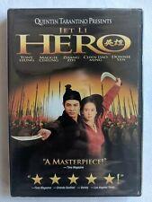 Hero Dvd New Jet Li Tony Leung Maggie Cheung Zhang Ziyi Donie Yen Martial Arts