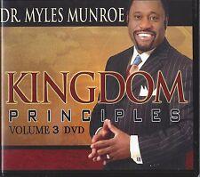 Kingdom Principles The Kingdom & the Church Vol 3 - 6 Dvds Myles Munroe