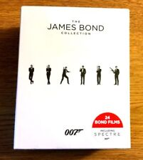 The James Bond Collection (Blu-ray Disc, 2016, 24-Disc Set) + BOND GIRLS FOREVER