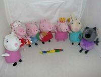 Plüsch Peppa Pig 16cm Original Offizier Ty George Rebecca Suzy Plush Original