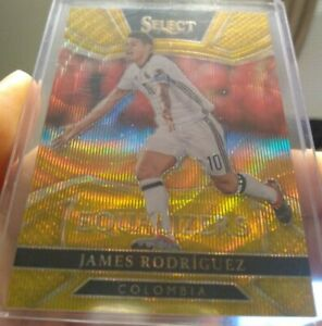 2016-17 Panini Select Equalizers James Rodriguez 8/10