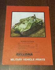 Bellona Military Vehicle Prints Series Fifteen