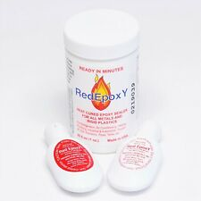 Supco Hs12001 Red Epoxy Repair Kit For Metals Amp Rigid Plastics