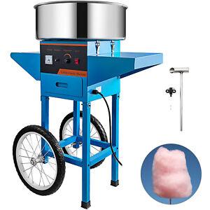 """Automat Zuckerwattemaschine Profi Zuckerwatte Candymaker mit Wagen 20"""" Pan 1030W"""