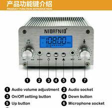 15W PLL FM Transmitter USB Bluetooth Radio Stereo Antenna Broadcast FM 88~108MHz