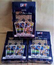 3 box LOT 1992 O-Pee-Chee Premier Baseball Factory sealed Griffey Ryan Ripken ??