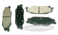 Disc Brake Pad Set-Semi-Metallic Pads Rear Tru Star PPM732