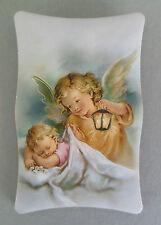 Bild Schutzengel Baby mit Engel 7 x 11cm Geburt Taufe Schutzengelbild AD 55-2