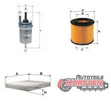 Set M: Ölfilter+Kraftstofffilter+Innenraumfilter Filterset SEAT SKODA VW