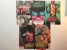Marvel 2019 Meet The Skrulls 1-5 1st App Warners Captain Marvel MCU HTF