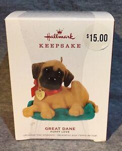 HALLMARK KEEPSAKE - 2019 - GREAT DANE - PUPPY LOVE