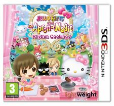 Hello Kitty And The Delantal OF MAGIC Rhythm Cooking - Nintendo 3ds 2ds NUEVO