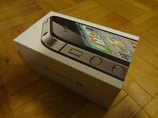 nur VERPACKUNG für iPhone 4S Black Schwarz * ohne iPhone * Box Schachtel Karton