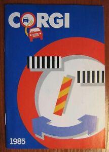 Corgi Toys 1985 catalogue mint