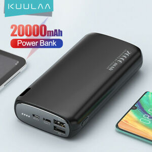 Power Bank 20000mAh Portable Charging Mobile Phone External Battery Charger