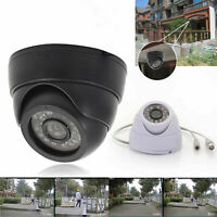 Outdoor/Indoor Security CCTV Dome Camera Waterproof 24 IR Night Vision Monitor