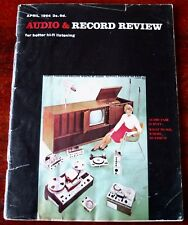 AUDIO & RECORD REVIEW HI-FI MAGAZINE APRIL 1964 UK CLASSICAL