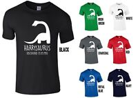 Adults Personalised Diplodocus T-Shirt - Any Name/Date Dinosaur Birthday Gift