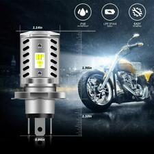 IRONWALLS LED Headlight H4 HS1 Motorcycle High Low Beam Super Bright 5000LM Bulb