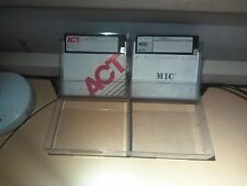 LOT of 19 mixed brand 5.25 in. Floppy Disc ACT, MIC, Maxell w/ Boxes