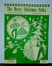 New ListingVintage Sheet Music - The Merry Christmas Polka song by Sonny Burke ©1949