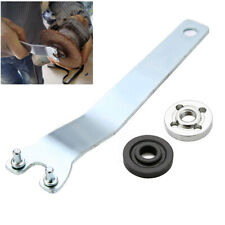UK-Angle Grinder Flange Pin Key Spanner Wrench & Lock Nut Hand Tool For MAKITA