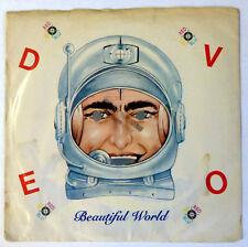 DEVO 45 Beautiful World mono/stereo WARNER BROS. new wave VG++ promo ak325