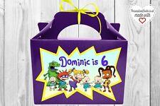 Rugrats favor Caja/Bolsa. Personalizado Cumpleaños. fiesta decoraciones Rugrats