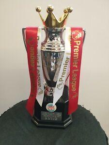 "LIVERPOOL Replica Premier league trophy 2020 champions . METAL not plastic 10.5"""