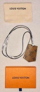 Authentic Louis Vuitton Monogram Giant KeyChain Necklace Monogram Reverse M67849