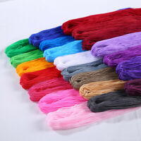 1mm Braided Macrame Silk Satin Cord Rope Jewelry Bracelet Making Thread Wire