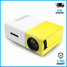 Salange YG300 LED Projector Mini Beamer Smartphone Home Media Player Cinema