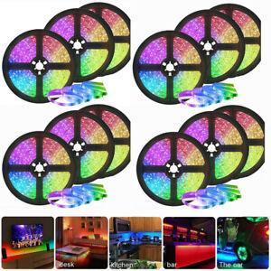 Led Strip Lights 5m-100m Flexible Multi Color RGB 5050 30leds/m Tape Lamp DC12V