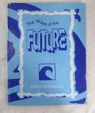 1997 Yearbook Bonita Vista Middle School, Chula Vista CA, Nostalgia