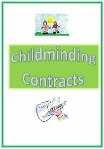 Childminding contract forms pack Childminder EYFS resources READY MADE for you