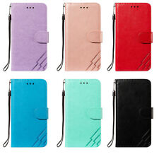 Three bars Wallet Leather Flip Case Cover For iPhone 12 11 Pro Max 8 7 Plus XR X