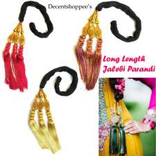3 pieces High Quality Long Length Paranda Parandi Hair Accessory Braid Tassle