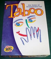 2000 TABOO The Game of Unspeakable Fun - 100% Complete - VGC