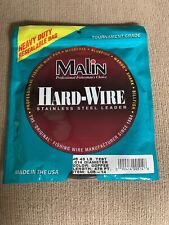 Malin Hardwire Stainless Steel Leader Wire-1/4 Lb Coil LC5-14