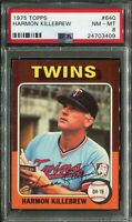 1975 Topps #640 Harmon Killebrew PSA 8 NM-MT