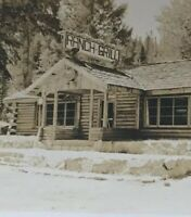 Postcard Ranch Grill Hope-Princeton Highway B.C. Canada Vintage P43