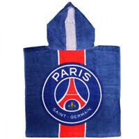 Poncho de bain en coton du PSG paris saint germain serviette enfant 50x100 cm