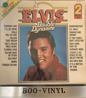 Elvis - Double Dynamite - UK 1972 RCA Camden PDA 057 Double Gatefold LP Album EX