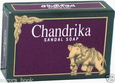 Chandrika Sandal Soap 2.64 Ounce Bar from Herbal Extracts No Animal Fat WA31289