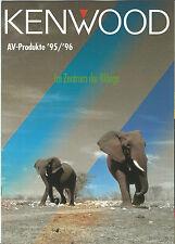 Kenwood Katalog Prospekt KR-X1000 KM-X1000 LS-X1F KR-V5570 KX-V7700 SS-3300