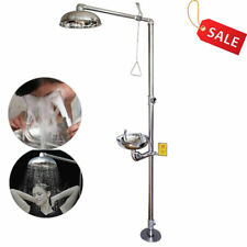 Eyewash Emergency Eyewash Shower System Stainless Steel Emergency Shower Eyes
