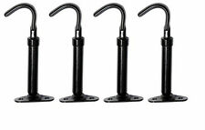 Chevrolet Chevy Car & Truck Painted Black Hood Latch Set of 4 - 1929-1932