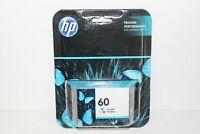 GENUINE HP Ink 60 Tri-color INK CARTRIDGE CC643WN  EXP. 2017 FACTORY SEALED!